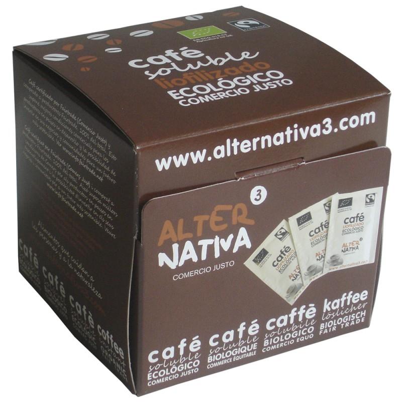 Café soluble liofilizado - Alternativa3