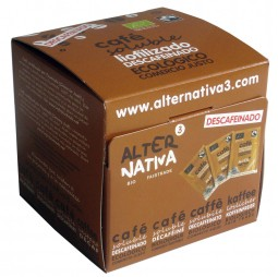 Café descafeinado soluble liofilizado - Alternativa3