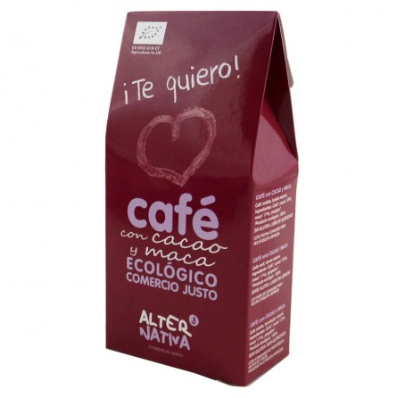 Café molido con Maca ¡Te Quiero! 125g - Alternativa3
