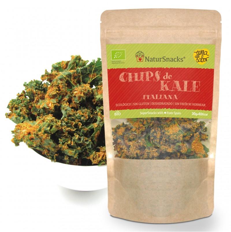 Chips de Kale Italiana 30g - Natursnacks