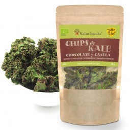 Chips de Kale Chocolate & Canela 30g - Natursnacks