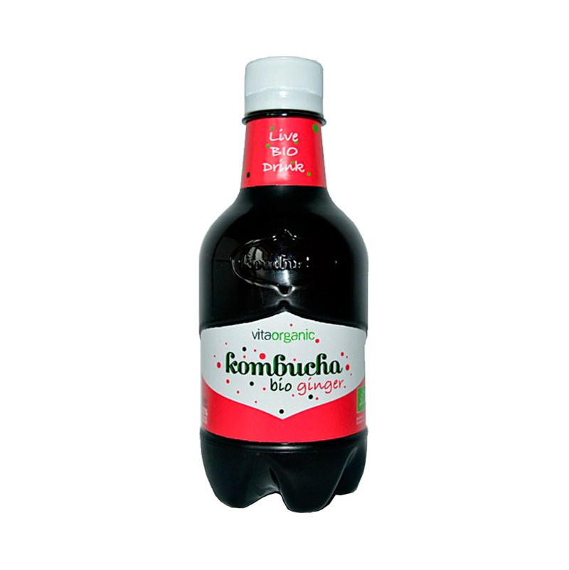 Kombucha con Jengibre 330ml - Vitaorganic