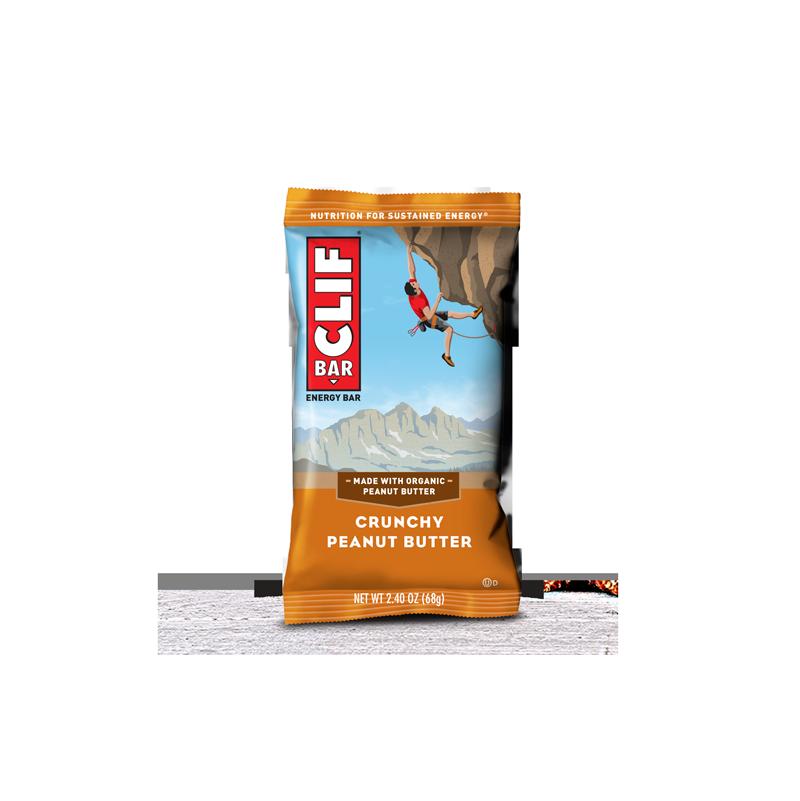 Barrita energética de avena y crema de cacahuete 68gr - CLIF