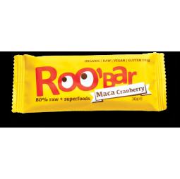 Barrita de Maca & Arándanos Rojos 30g - Roobar