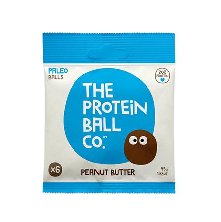 Bolitas de Proteína con Crema de Cacahuete 45g - The Protein Ball