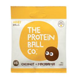 Bolitas de Proteína con Coco & Macadamia 45g - The Protein Ball