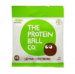 Bolitas de Proteína Vegana, Limón y Pistacho 45g - The Protein Ball