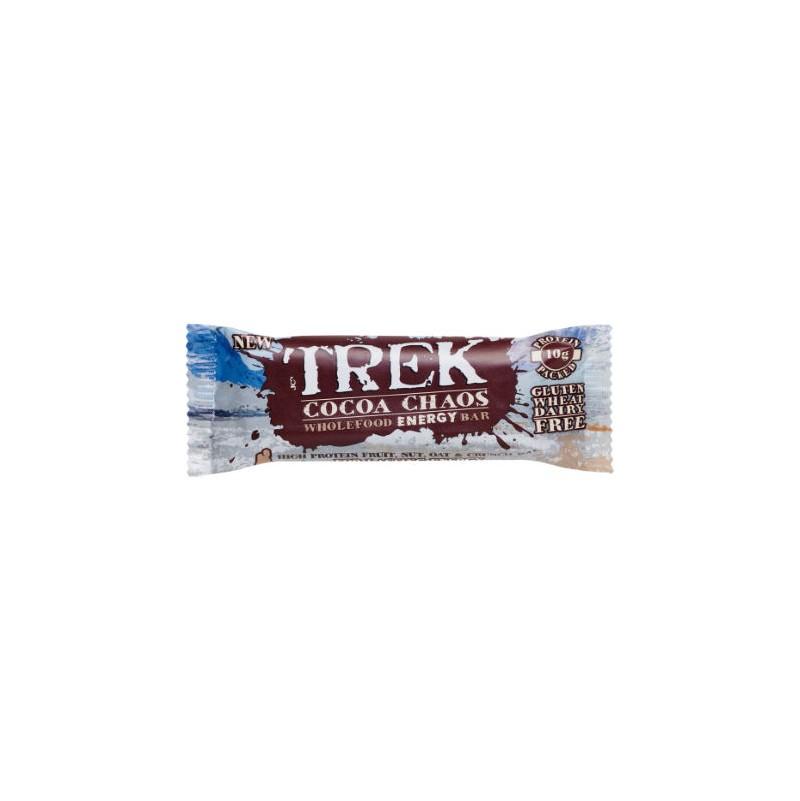 Barrita de Proteína Cocoa Chaos 55g - TREK