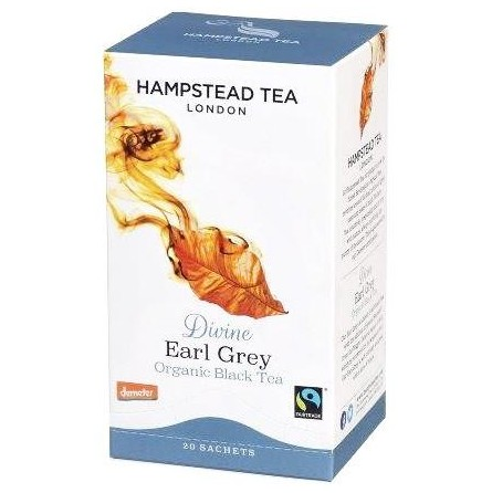 Té negro ecológico Earl Grey - Hampstead Tea