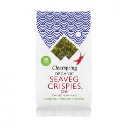 Snack de Alga Nori Tostada Chili 5g - Clearspring