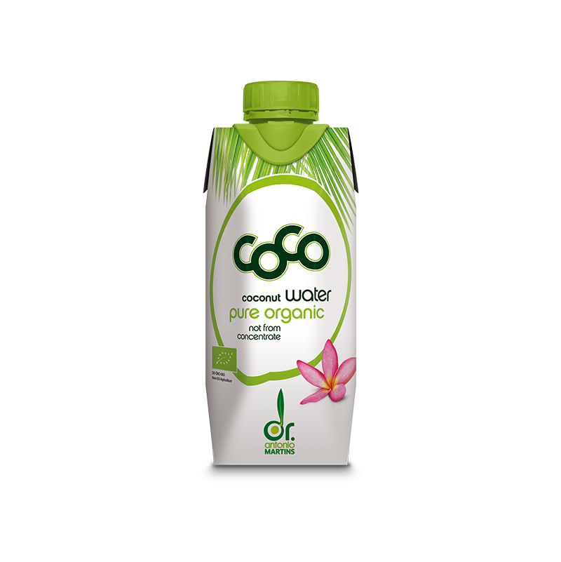 Agua Coco Bio 330ml - Dr. Antonio Martins