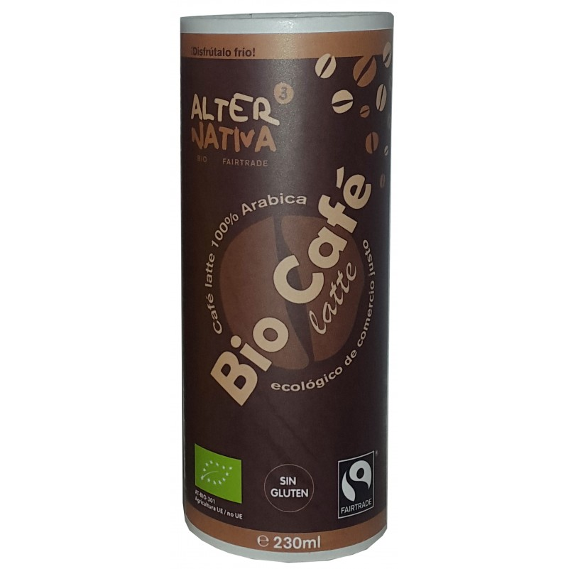 Bebida de Café Latte BIO-Comercio Justo 230ml - Alternativa3