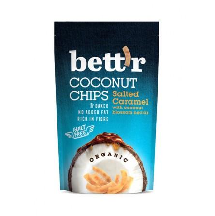 Chips de Coco con Caramelo Salado 70g - Bett'r