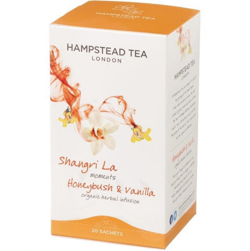 Infusion Orgánica con Cyclopia (Honeybush) & Vainilla - Hampstead Tea