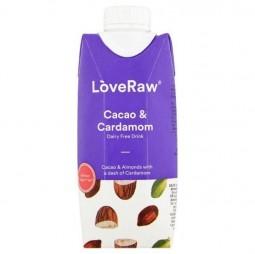 Bebida de Almendras, Cacao & Cardamomo 300ml - LoveRaw