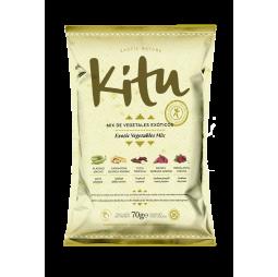 Mix de Vegetales Exóticos 70g - Kitu Snack