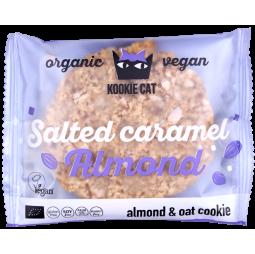 Galleta de Almendras y Caramelo Salado 50gr - Kookie Cat