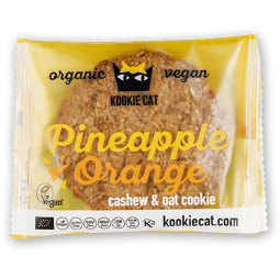 Galleta de Avena con Piña & Naranja 50gr - Kookie Cat