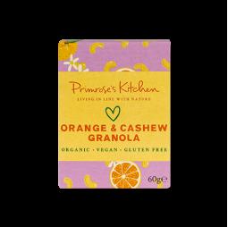Granola de Anacardos y Naranja 60gr - Primrose's Kitchen