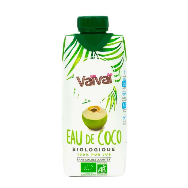 Agua Coco Bio 330ml - Vaivai