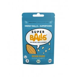 Bolitas energéticas de Cacao y Cacahuetes 48g - Super Balls