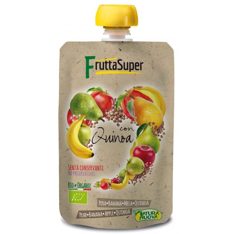 Puré de frutas con Quinoa 120g - Natura Nuova